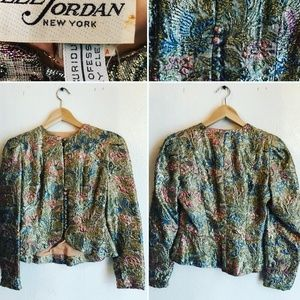 Vintage Lee Jordan Metalloc Brocade Jacket
